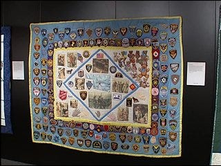 Quilts display hope