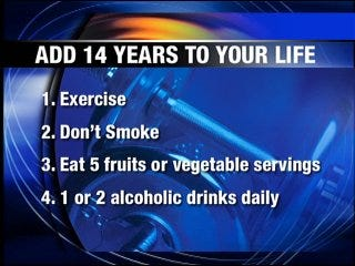 Add 14 years to your life