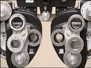 Eye doctor offered free exams
