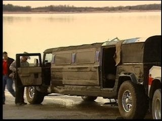 Man catches limousine instead of fish