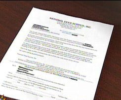 Scam about house deeds in the mail