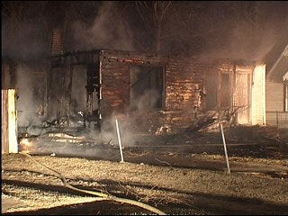 String of fires ruled arson