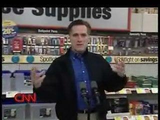 Romney gets in heated exchange