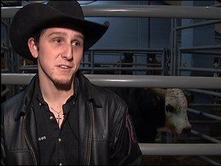 Bull rider seeks 'bling bling'