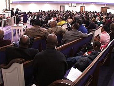 Porter supporters hold rally