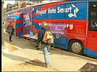 Project 'drives' voters to issues