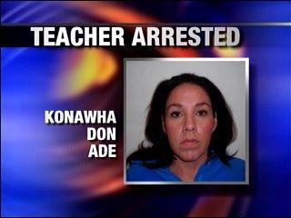 Teacher arrested, coaches fired in Ada