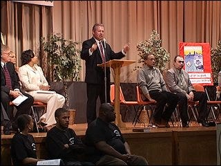 Community calls for end to violence
