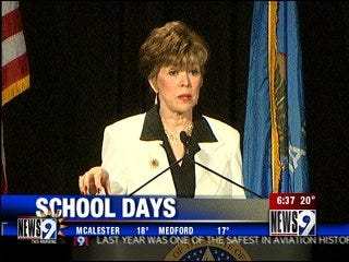 Oklahoma schools must make up lost days
