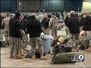 Troops head back to Ft. Bliss