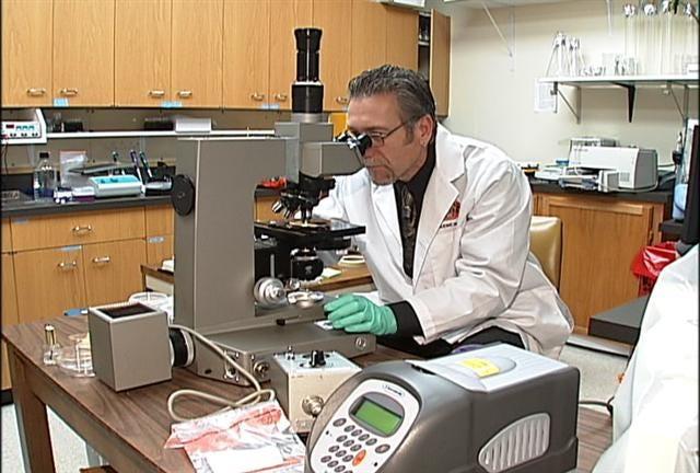Researcher studies mysterious illness