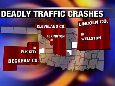 Four dead in car collisions over weekend