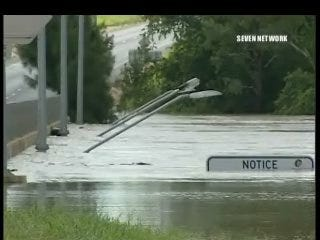 Parts of Australia deal with massive flooding