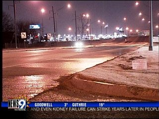 Slick roads blamed for vehicle collisions