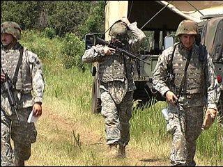 Oklahoma's 45th begin deployment
