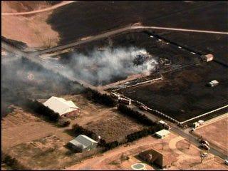 Fire destroys southeast metro structures