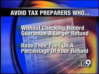 Find a reliable preparer for your taxes