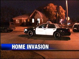 Man shot by intruders, police say