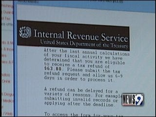 Scammers are offering bogus tax refunds