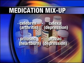 Medication mix-ups could be avoided