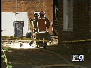 Apartment fire in Northwest Oklahoma City