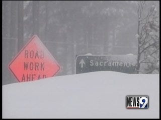 California slam: Fierce arctic storm hits west coast