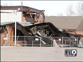 Jones students return to class after fire destroys school