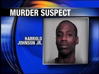 Murder suspect caught after police chase
