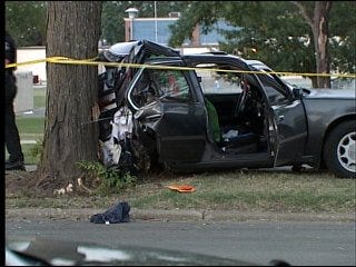 High-speed chase ends in four-vehicle crash
