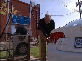 Compressed Natural Gas offers break at the pump