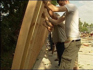 Habitat for Humanity builds special home