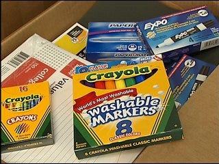 Metro church provides school supplies