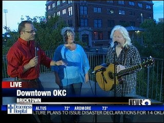 NEWS 9 night at the Rodeo Opry