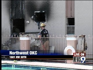 8-year-old sparks apartment fire, officials say