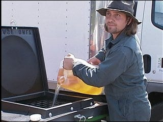 Cooking oil recycled into fuel