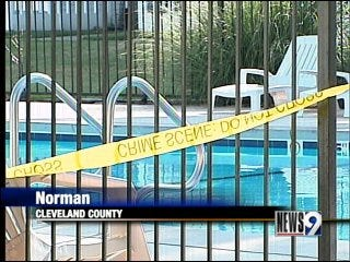 Body found in Norman swimming pool