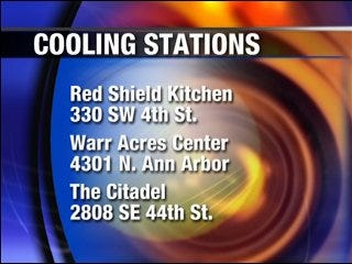 Salvation Army offers cooling stations