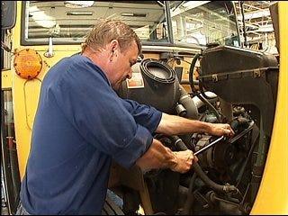 Rising fuel costs hurt school funding
