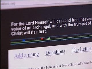 Web sites offer those left behind help after rapture
