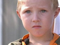 Kindergartner is his pappa's Oklahoma Hero