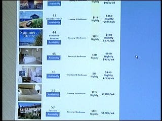 Renters look online for vacation homes