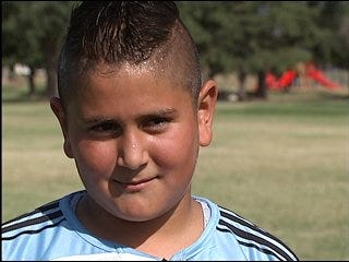 Police reach metro youth through soccer