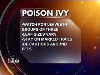 Avoid Poison Ivy
