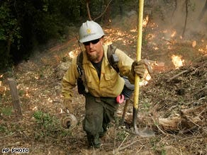 Crews forge progress against California fires