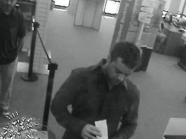 Man discreetly robs bank, police say