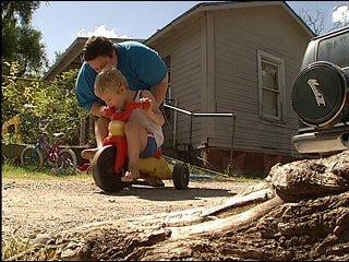 Parents seek help replacing special needs wheelchair