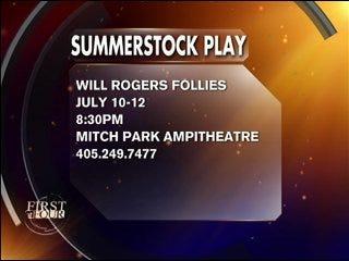 Summerstock presents 'Will Rogers Follies'