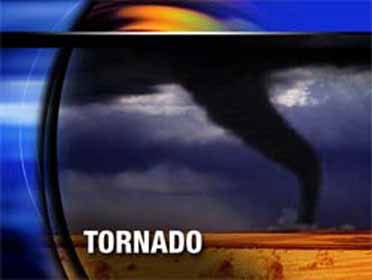 Tornado hits Iowa park, damaging only trees