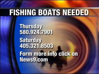 Boat volunteers needed