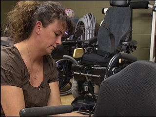 Boy gets new wheelchair from giving Oklahomans